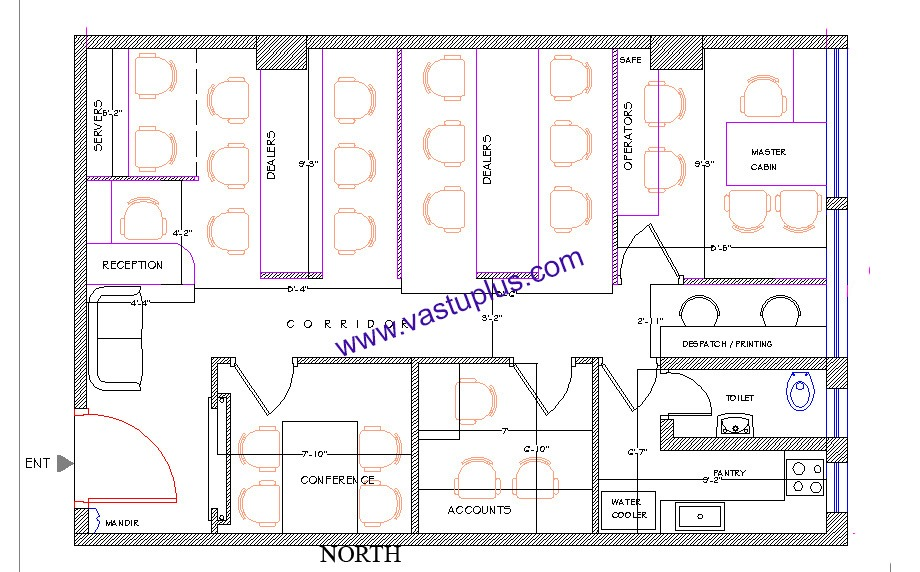 Vastu Plan | Layout Office | Flat | Appartment | Home | House