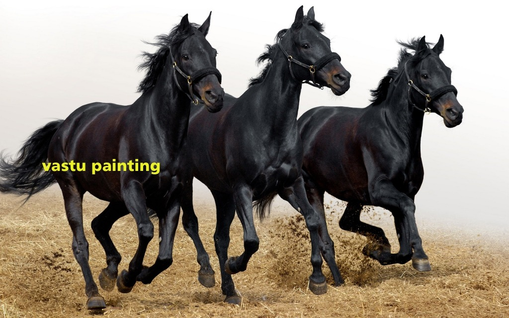 running horse vastu paintings